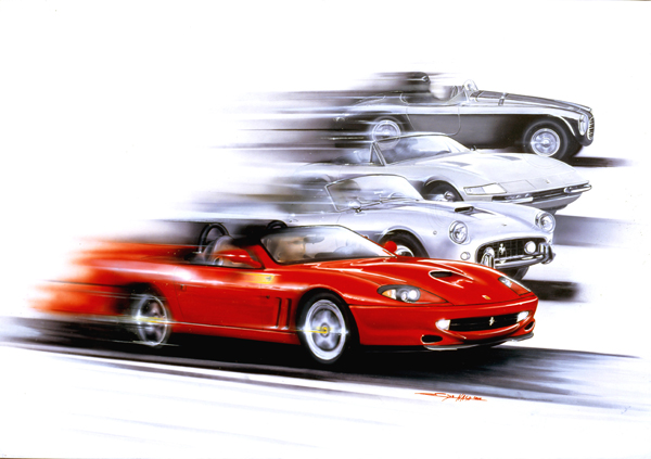 Barchetta (2002) - 100x70cm - Private collection Belgium
