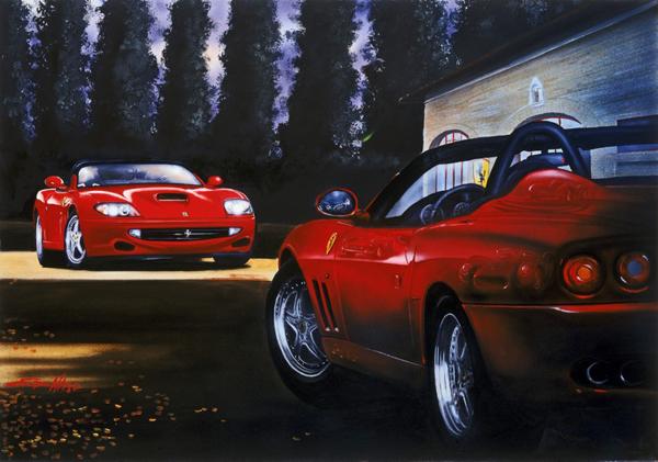 Barchetta Carnicero (2002) - 120x80 cm - Private collection Usa