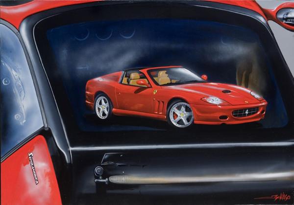 Superamerica (2007) - 100x70cm - Vermeulen Belgium