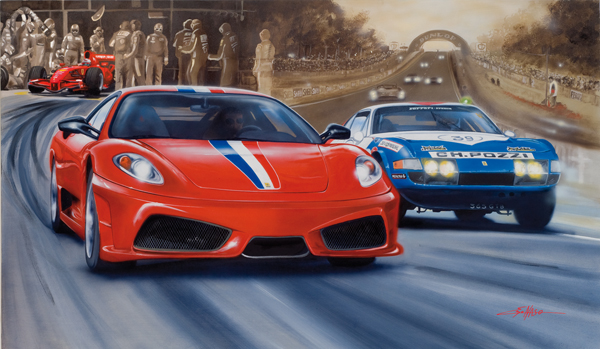 Scuderia (2008) - 120x80cm - Author's collection