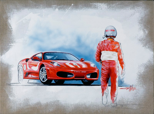 Fiorano Ferrari (2008) - 60x80cm - Author's Collection