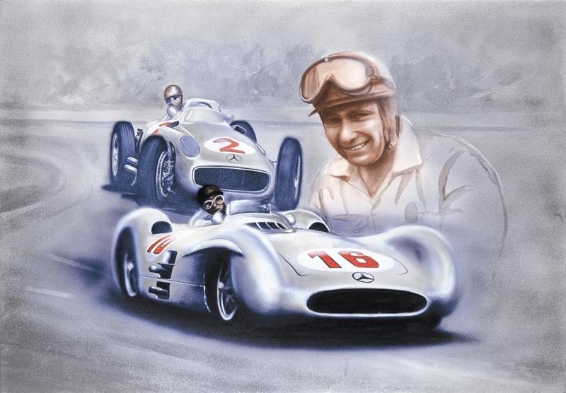 Mercedes Juan Manuel Fangio Monza