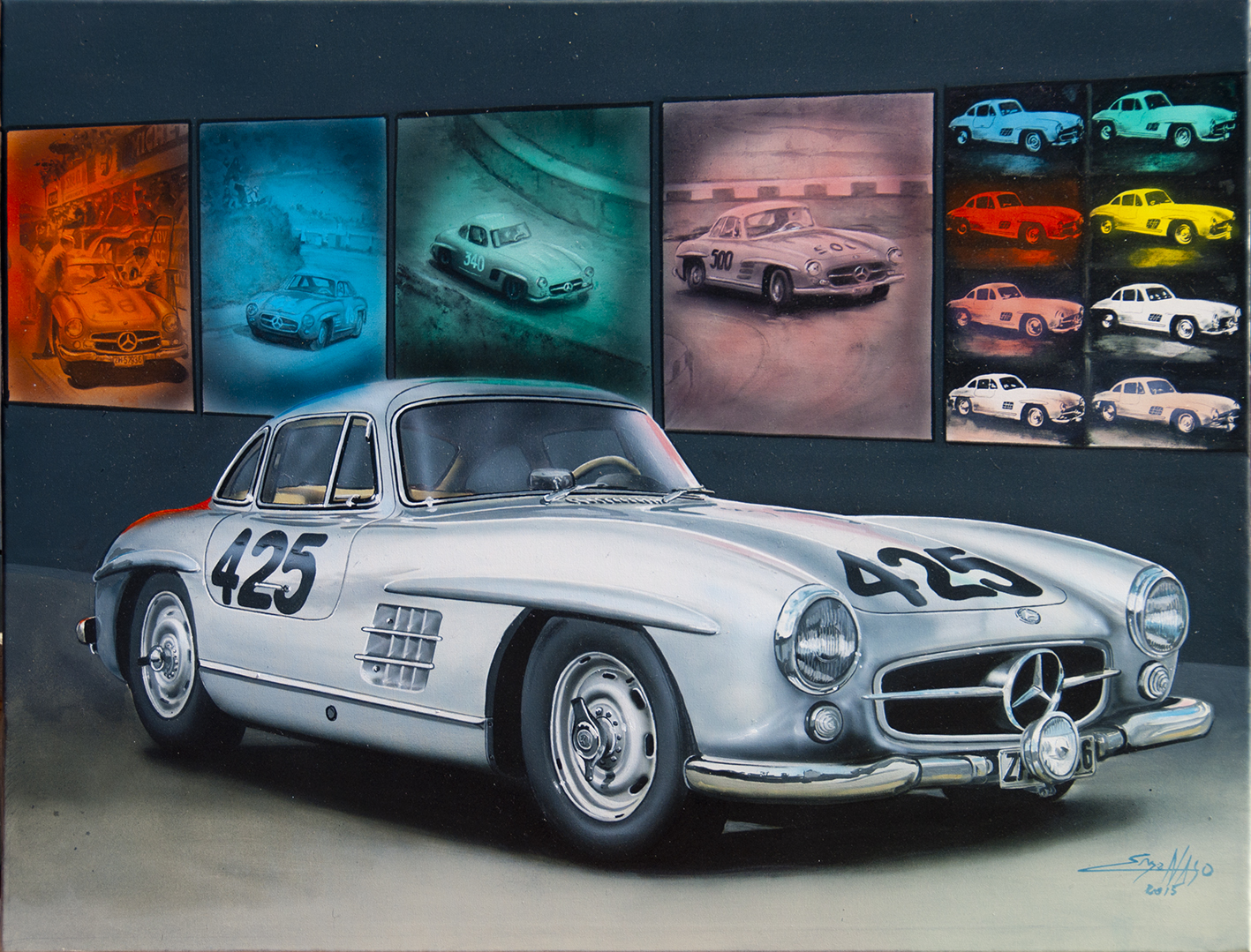 300 SL Gullwing MM 1957