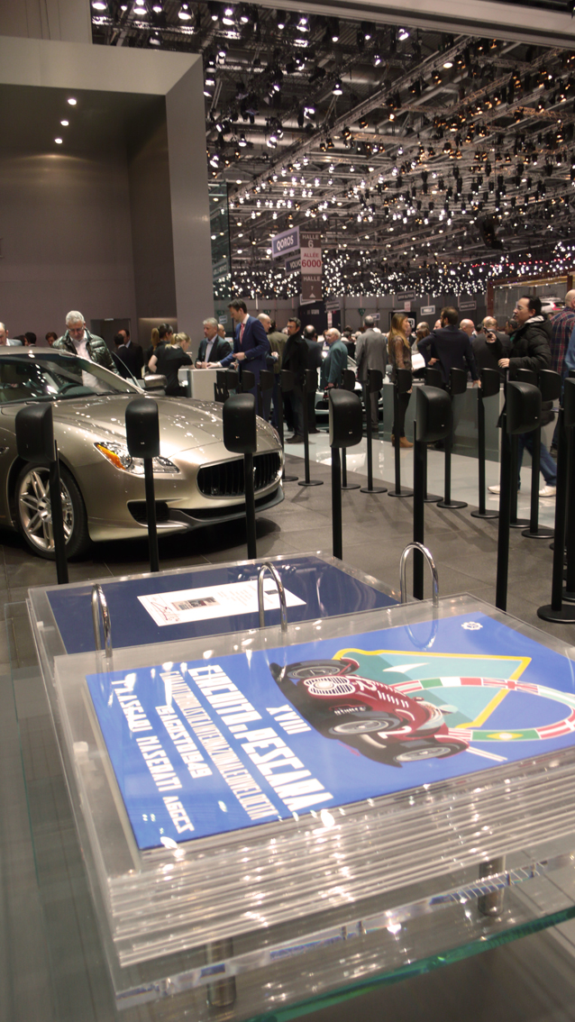 Litografie Maserati - Salone di Ginevra 2014