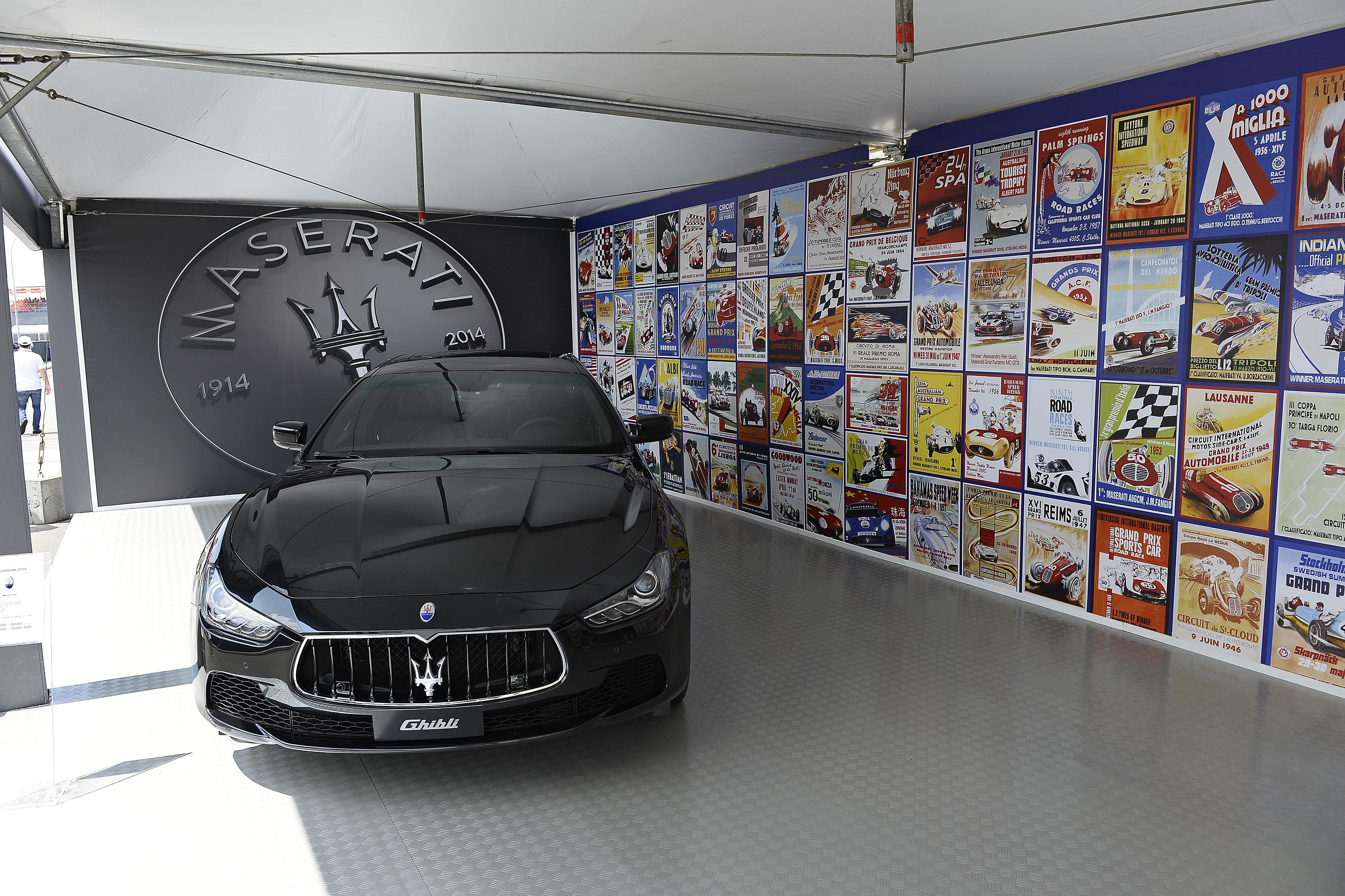 Stand Maserati GP San Paolo (Bra) 2014