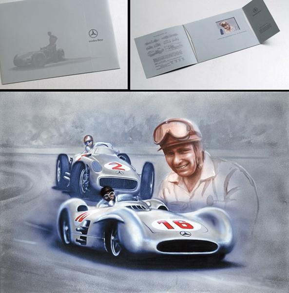 Mercedes Benz Italia- J.M. Fangio F1 Monza 1955.