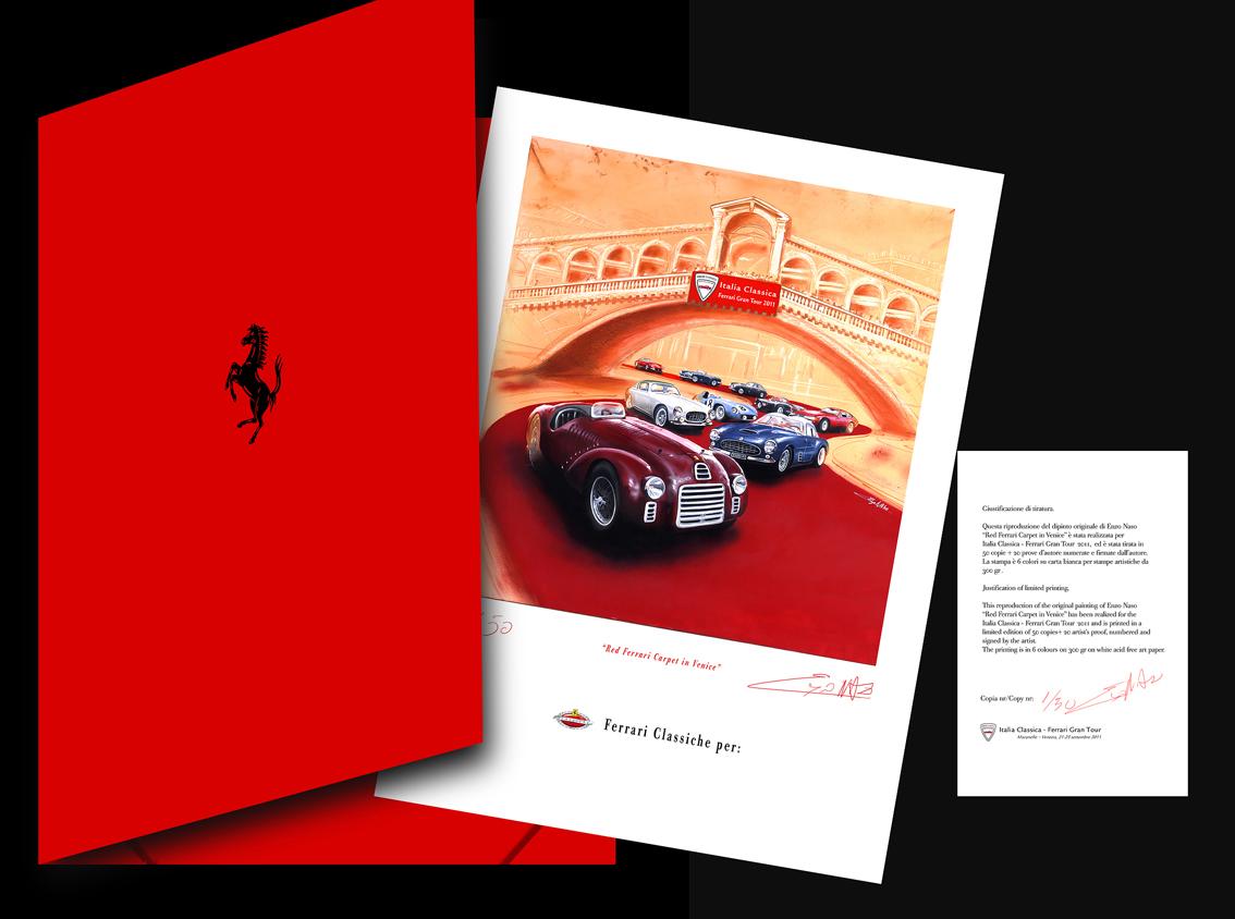 Litografia Ferrari a Venezia