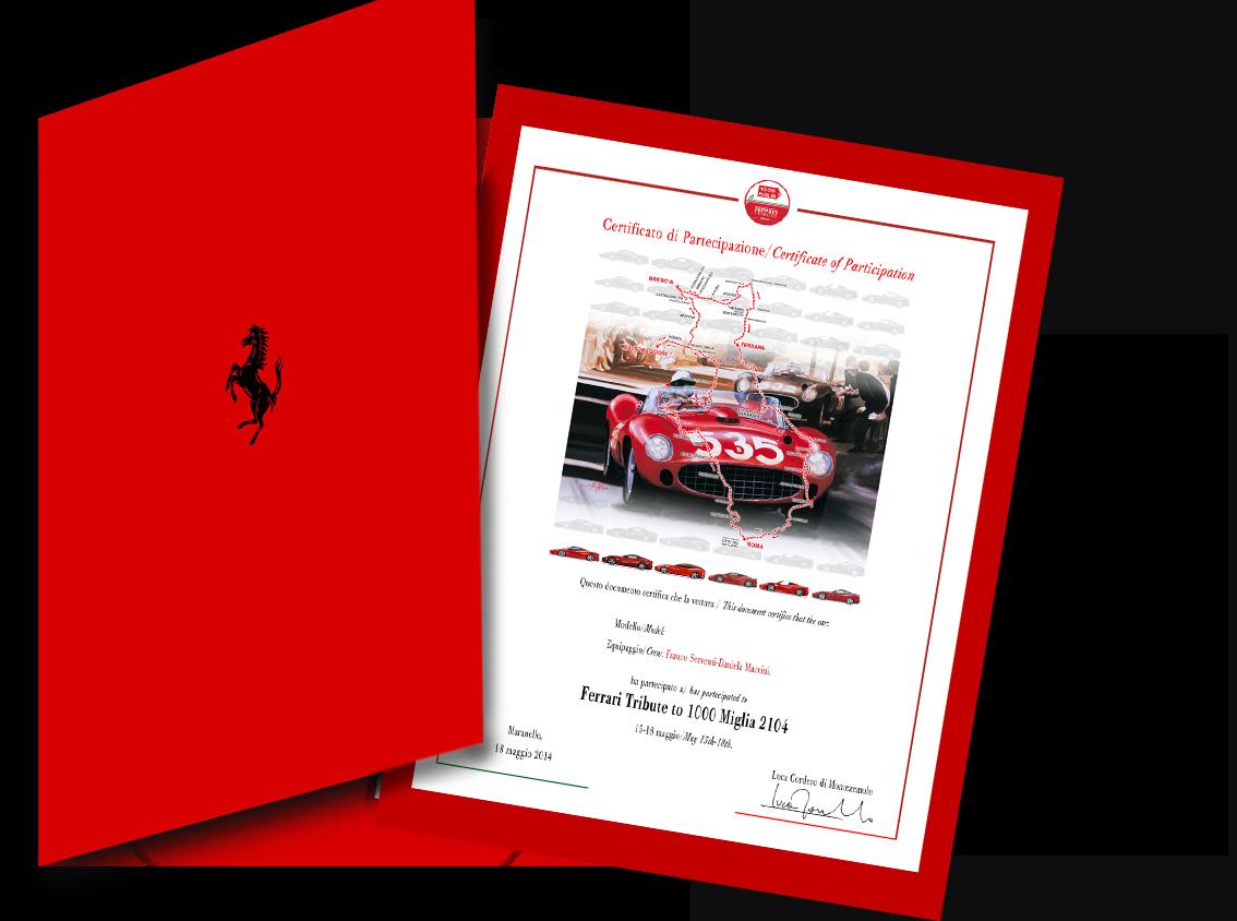Litografia Tributo Ferrari 2014