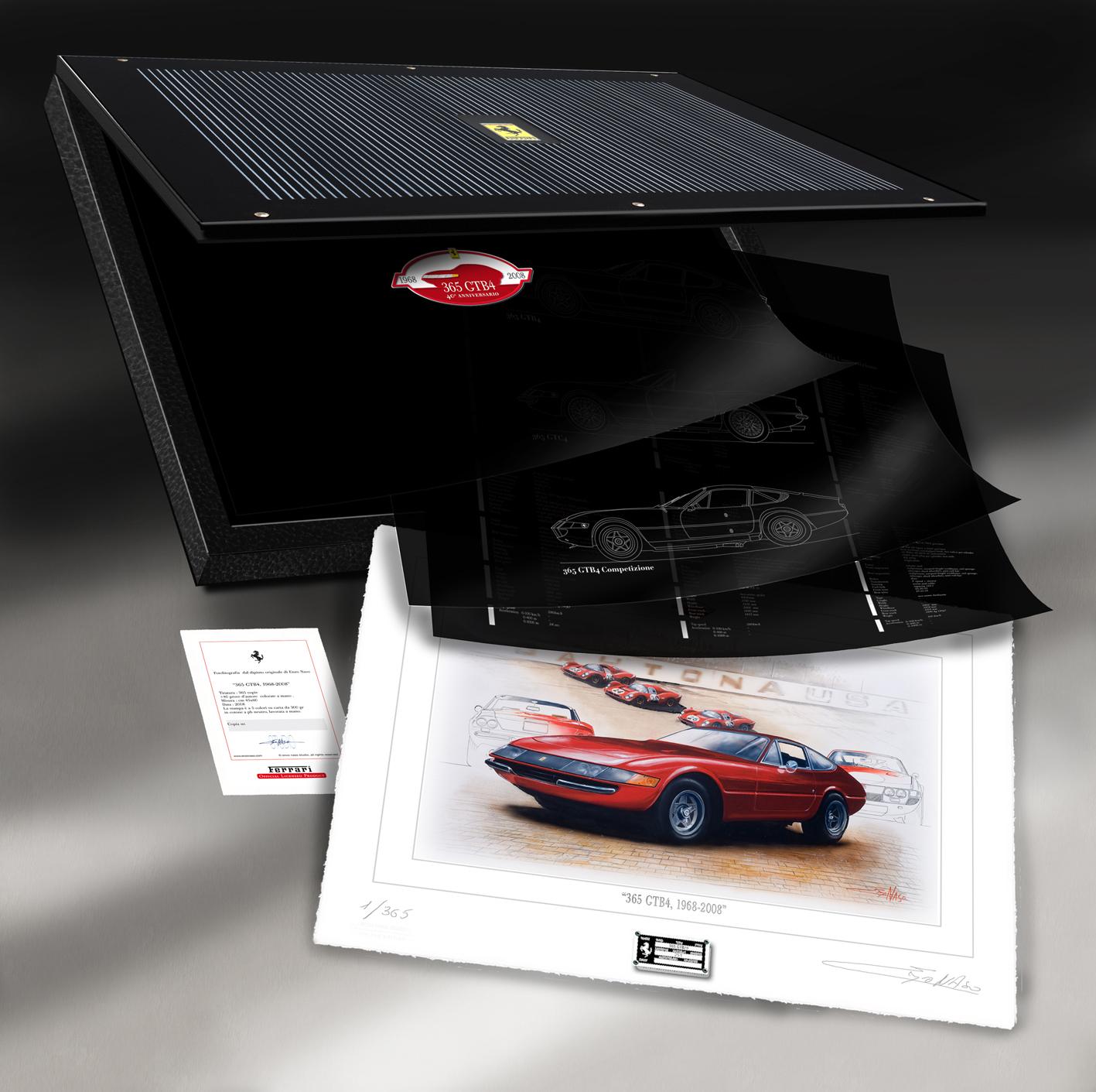 Ferrari 365 GB4 anniversary - 1968-2008