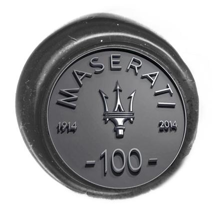 Timbro lacca Centenario Maserati