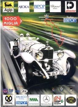 Poster Mille Miglia 1993