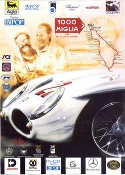 Poster Mille Miglia 1995