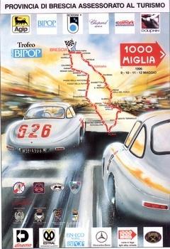 Poster Mille Miglia 1996