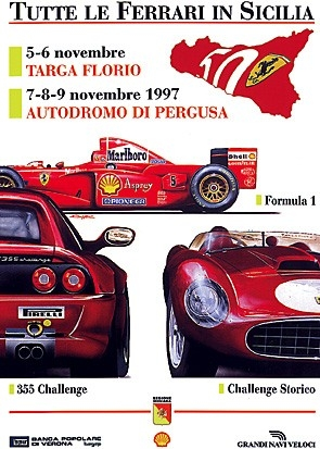 Poster Ferrari - Sicilia