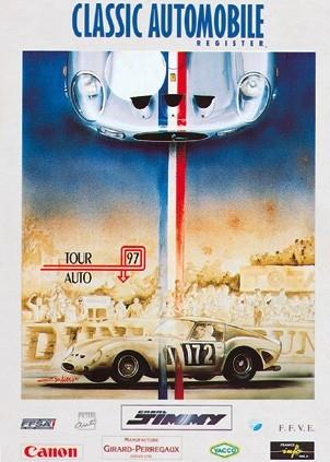 Poster tour auto - 1997