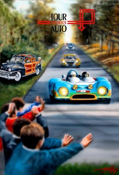 Poster tour auto - 2003