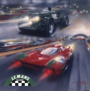 Poster Le Mans