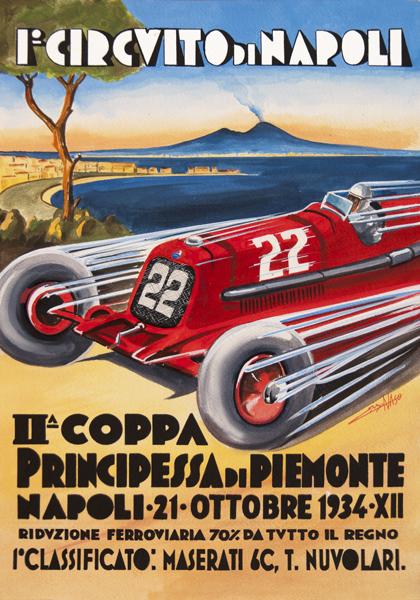 Centenario Maserati - GP Napoli 1934