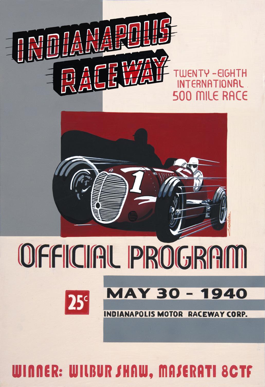 Centenario Maserati - GP Indianapolis 1940