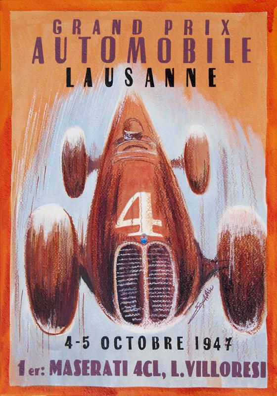 Centenario Maserati - GP Losanna 1947