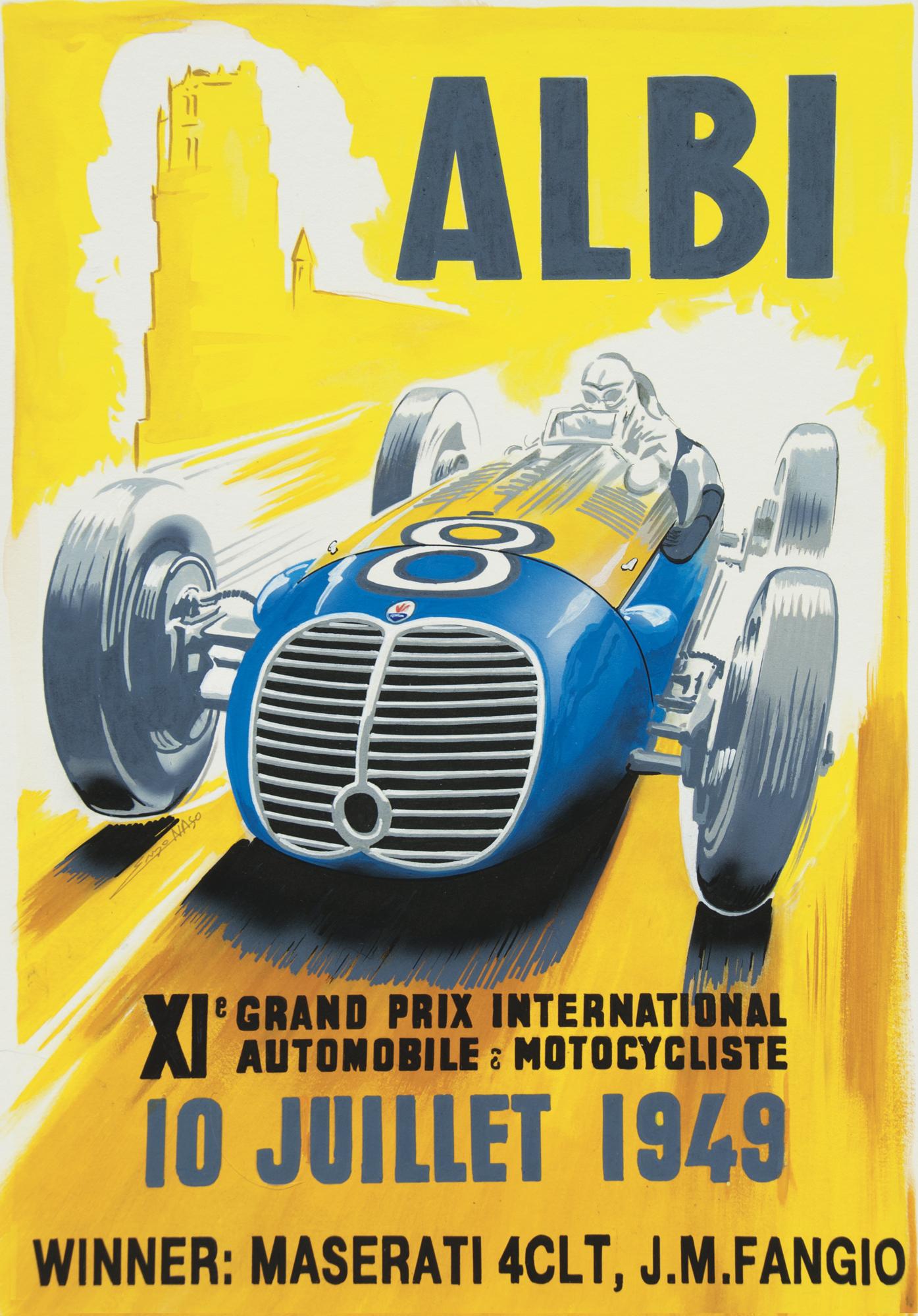Centenario Maserati - GP Albi 1949