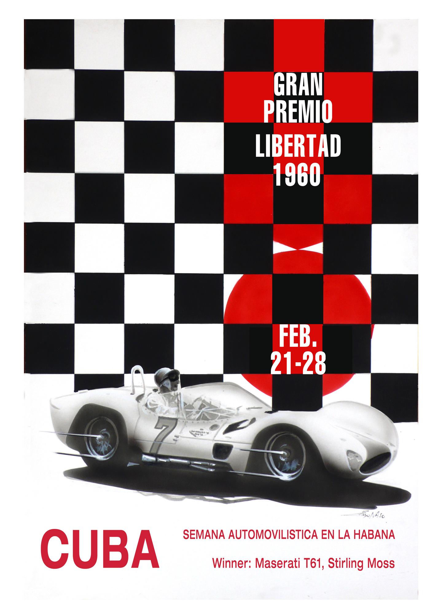 Centenario Maserati GP - Cuba 1960
