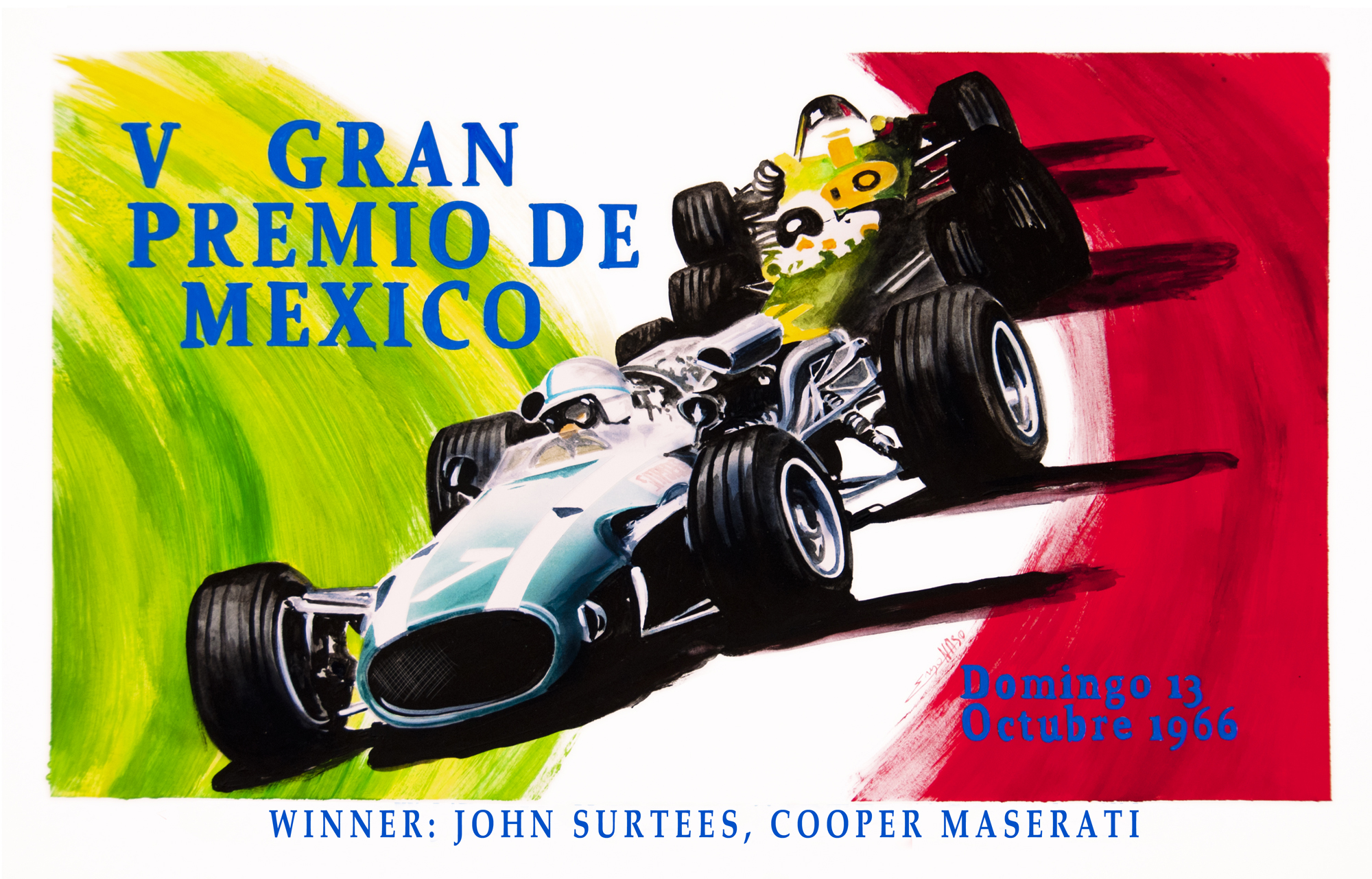 Centenario Maserati GP Mexico 1966