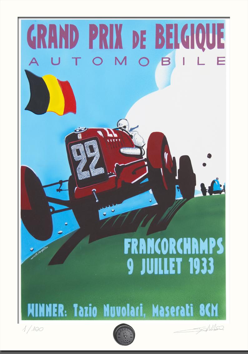 Centenario Maserati - GP Francorchamps 1933