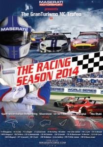 Locandina Maserati Trofeo World Series 2014