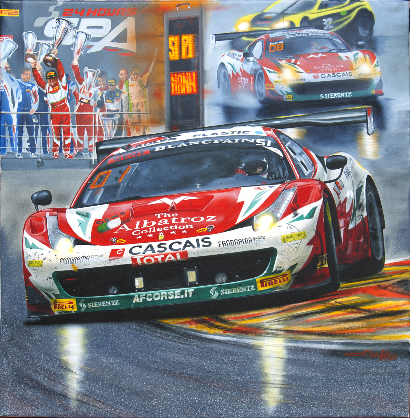 458 GT Spa 2014