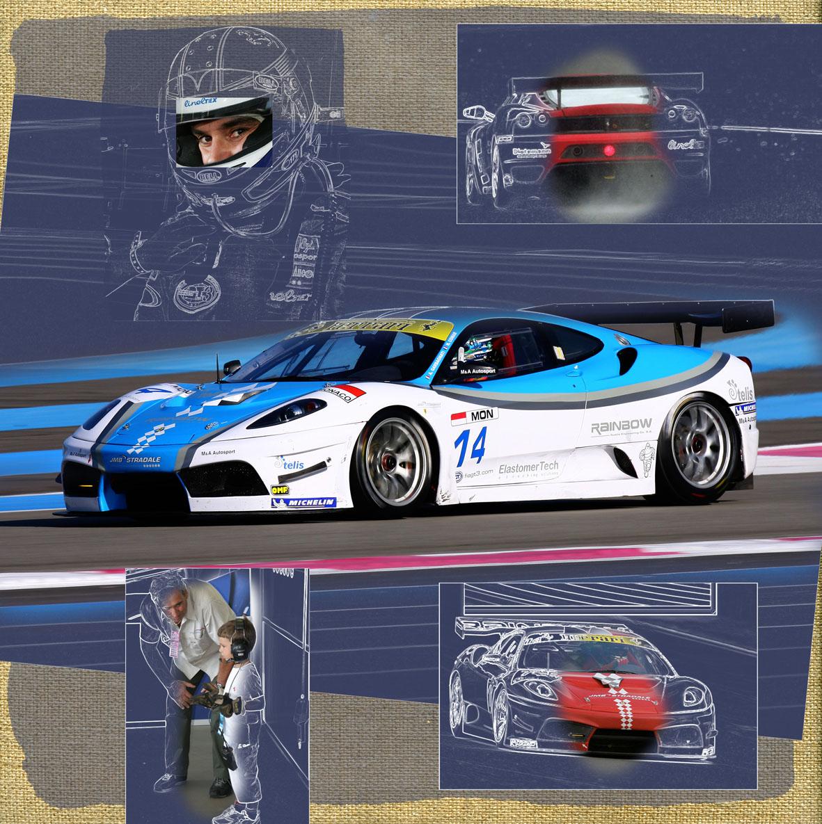 430 GT3 Garbagnati Dubai - 2006
