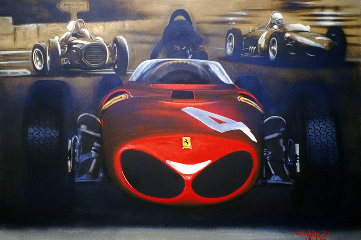 156F1 - 150x100cm - Ferrari Factory collection.