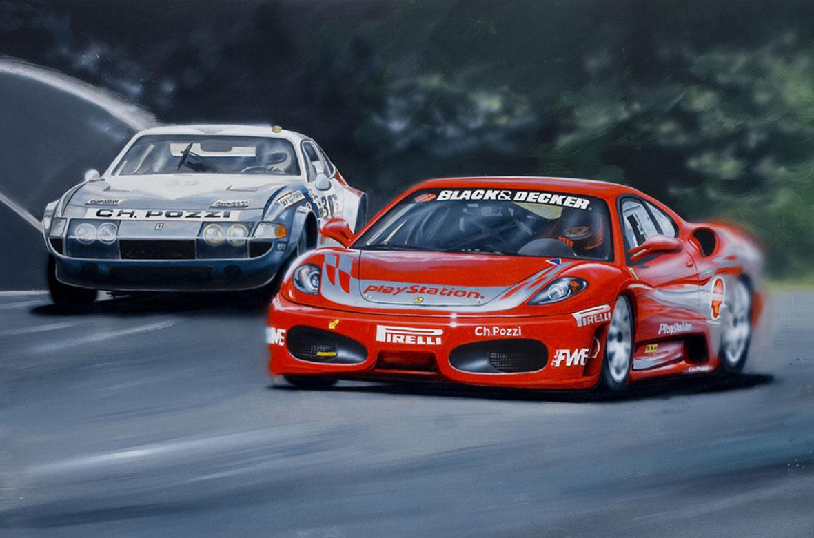 Ch.Pozzi Racing - 2008 - Ferrari west Europe