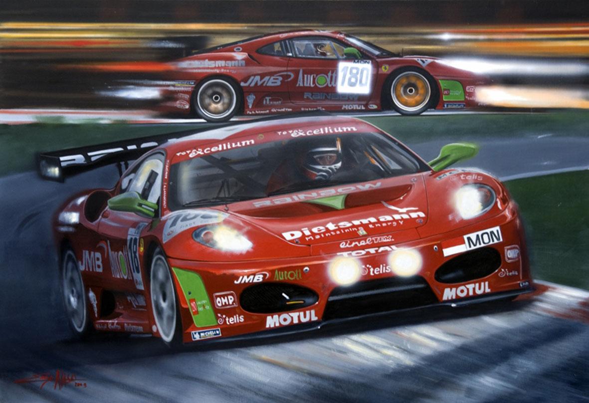 Ferrari 430 GT3 Garbagnati Spa - 2006 - 70x100