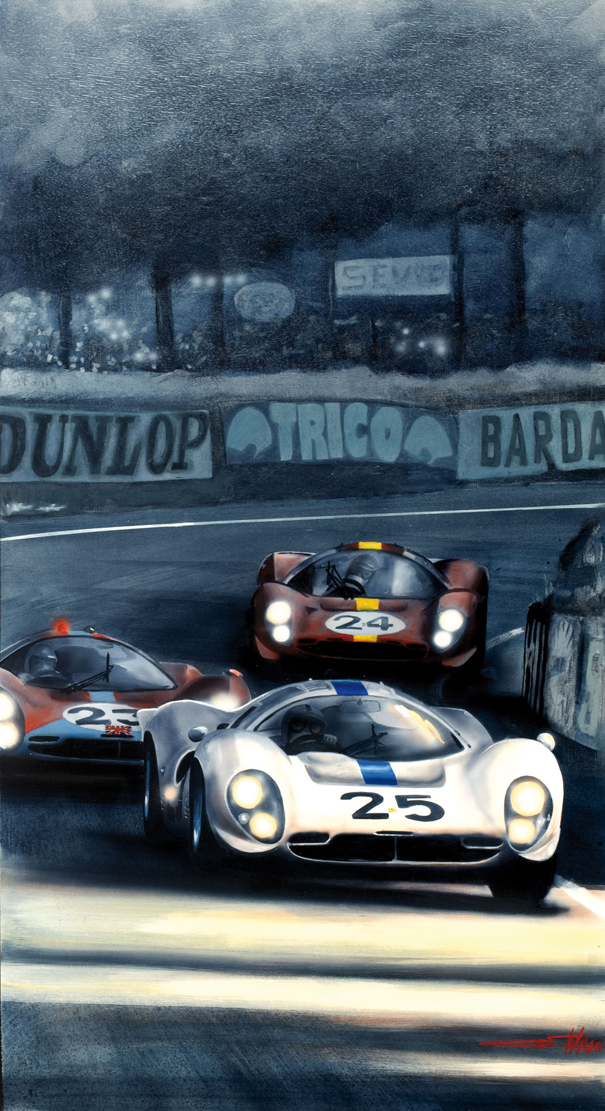 Le Mans 1967- 50x100cm - Artist's collection