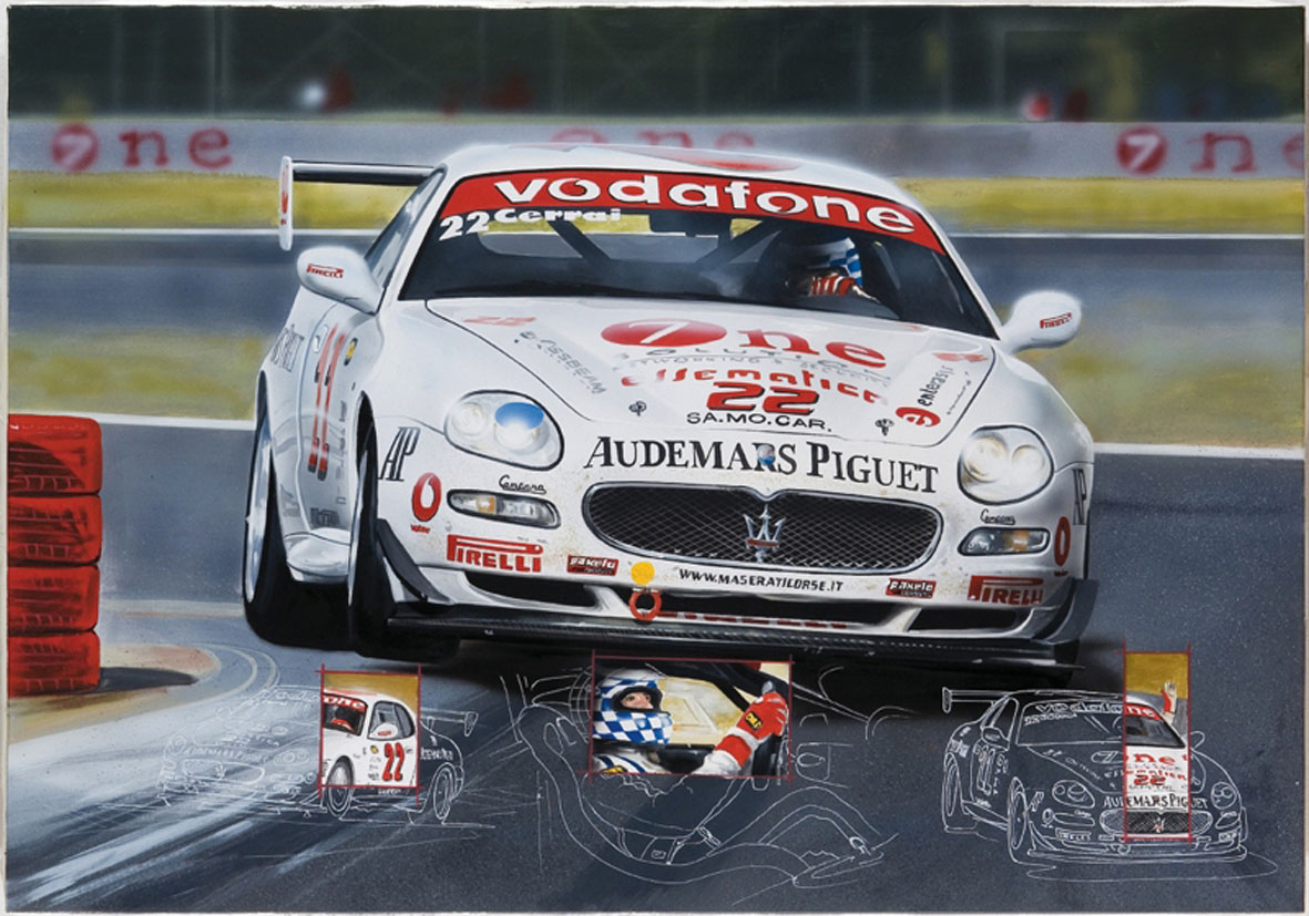 Trofeo Maserati-Cerrai - 2005 - 100x70cm - Private collection