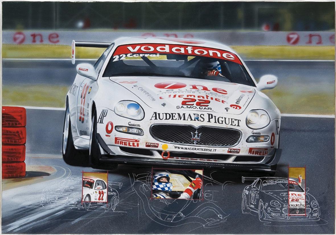 Trofeo Maserati-Cerrai - 2005 - 100x70cm - Private collection