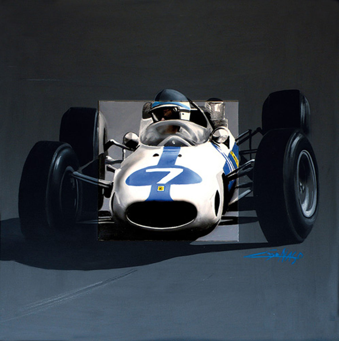 163 F1 Surtees - 2008 - 80x80 - Author's collection