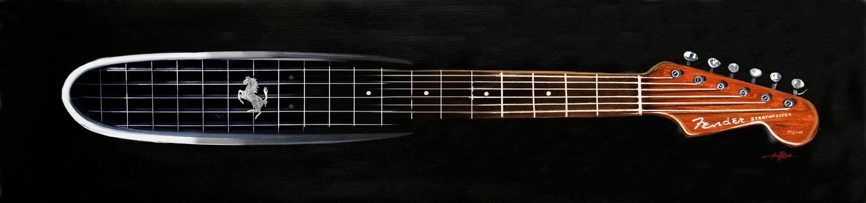 Calandra 250 chitarra fender