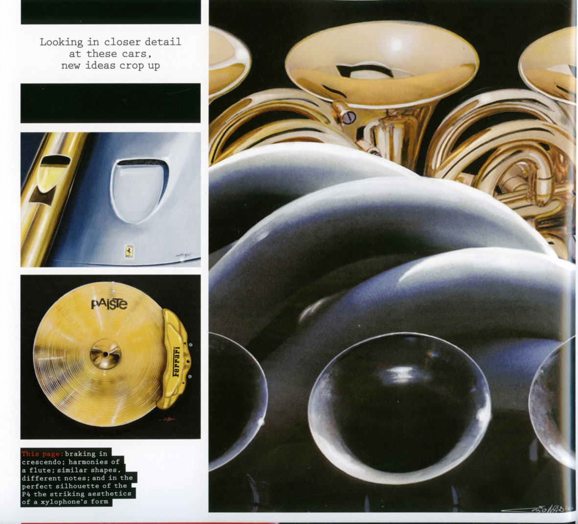 Ferrari Magazine nr13: sound and cars.